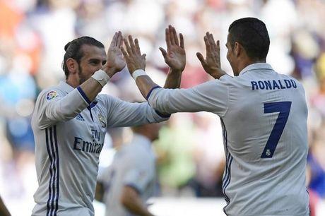 Real 1-1 Eibar: Bale danh dau dap cot doc (hiep 2) - Anh 1