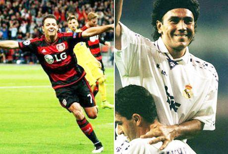 Roi Man United, Chicharito khong the ngung ghi ban - Anh 2