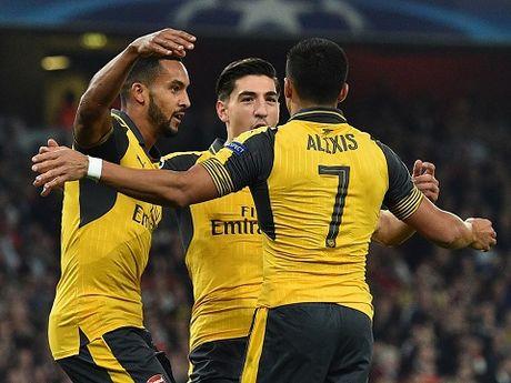 TRUC TIEP Burnley 0-0 Arsenal: Sanchez, Oezil va Walcott da chinh (Hiep 1) - Anh 2