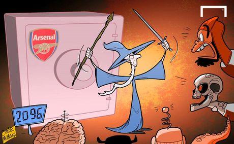 Biem hoa 24h: Arsene Wenger hoa phu thuy, Diego Costa cuu roi Chelsea - Anh 6