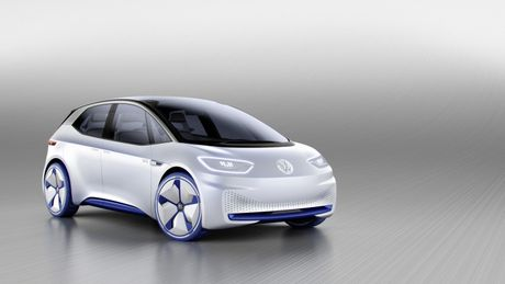 Chi tiet ngoai hinh mau xe dien Volkswagen I.D. Concept moi - Anh 1