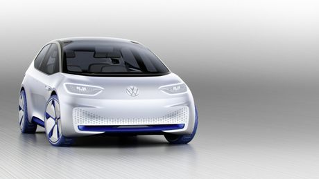 Chi tiet ngoai hinh mau xe dien Volkswagen I.D. Concept moi - Anh 2