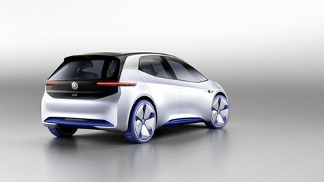 Chi tiet ngoai hinh mau xe dien Volkswagen I.D. Concept moi - Anh 3