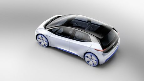 Chi tiet ngoai hinh mau xe dien Volkswagen I.D. Concept moi - Anh 5