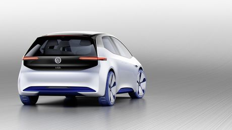 Chi tiet ngoai hinh mau xe dien Volkswagen I.D. Concept moi - Anh 6