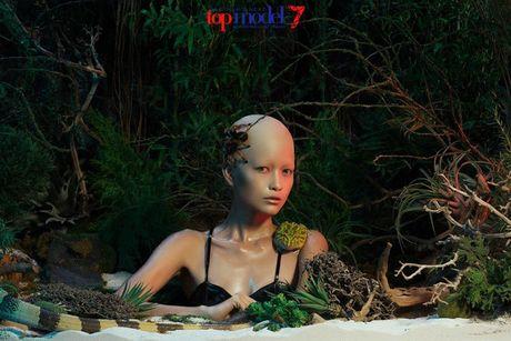 Ngam hanh trinh 'lot xac' cua Quan quan Ngoc Chau VN Next Top Model - Anh 12