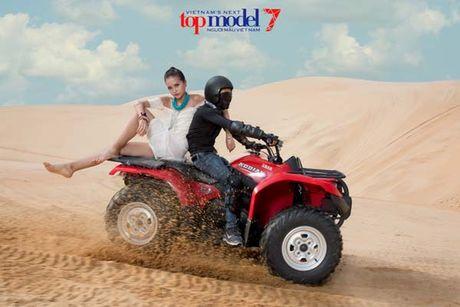 Ngam hanh trinh 'lot xac' cua Quan quan Ngoc Chau VN Next Top Model - Anh 6