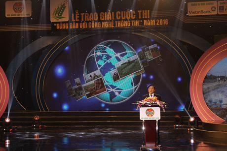 Nong dan Hoa Binh dat quan quan Cuoc thi Nong dan voi CNTT - Anh 1