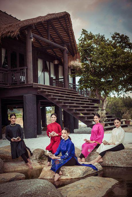 Top 5 Hoa hau Viet Nam 2016 dep 'nghieng thanh' voi ao dai - Anh 12
