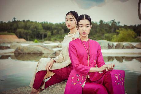 Top 5 Hoa hau Viet Nam 2016 dep 'nghieng thanh' voi ao dai - Anh 1