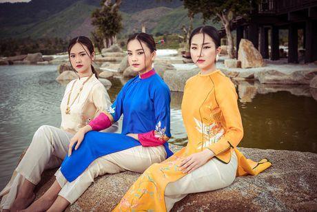 Top 5 Hoa hau Viet Nam 2016 dep 'nghieng thanh' voi ao dai - Anh 2