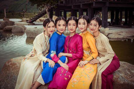 Top 5 Hoa hau Viet Nam 2016 dep 'nghieng thanh' voi ao dai - Anh 3