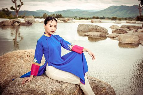 Top 5 Hoa hau Viet Nam 2016 dep 'nghieng thanh' voi ao dai - Anh 5