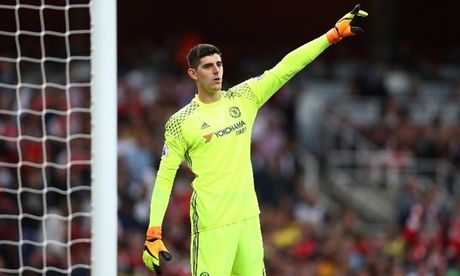 Courtois: Toi cam thay hanh phuc tai Chelsea - Anh 1