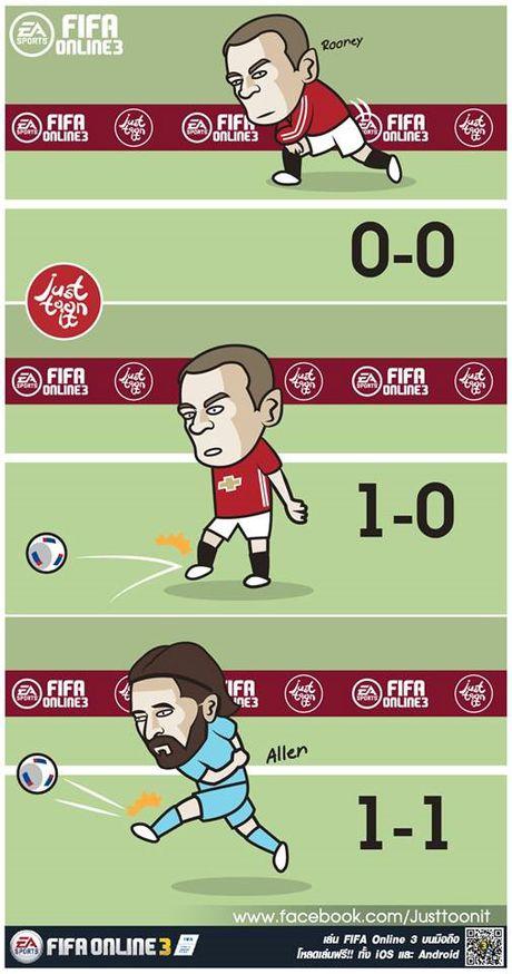 Hi hoa Balotelli huc gach ra the do khi choi game Mario - Anh 6