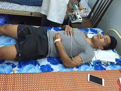 Tien dao Nguyen Quang Hai gia tu su nghiep vi benh thoat vi dia dem - Anh 3
