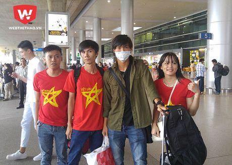 Cong Phuong ve tap trung DTQG voi mai toc la lam - Anh 3