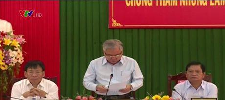 Kiem tra phong, chong tham nhung tai Quang Ngai - Anh 1