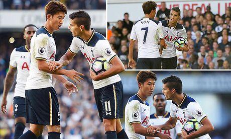 Hai sao Tottenham bi chi trich vi 'hon nhien' tranh da 11m tren san - Anh 1
