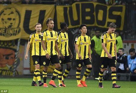 "Dortmund nhan ""trai dang"" truoc Leverkusen - Anh 1"