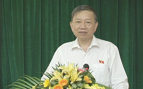 Bo truong To Lam tiep xuc cu tri tai tinh Bac Ninh - Anh 1