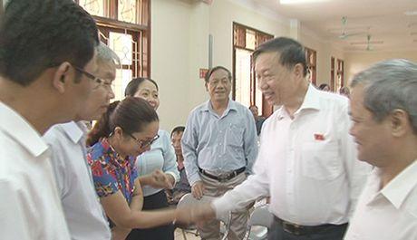 Bo truong To Lam tiep xuc cu tri tai tinh Bac Ninh - Anh 3