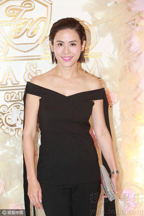 """Dan sao khung toi du dam cuoi """"Chi Ca TVB"""" Duong Di - Anh 10"""