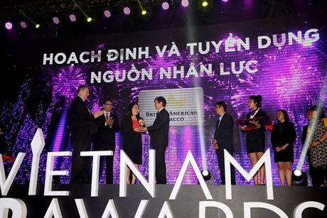 BAT Viet Nam nhan giai thuong HR Awards 2016 - Anh 1
