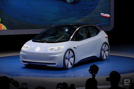 Dinh 'phot' khi thai, Volkswagen quay sang phat trien xe dien - Anh 1