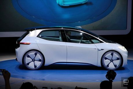 Dinh 'phot' khi thai, Volkswagen quay sang phat trien xe dien - Anh 2