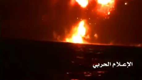 Phien quan Yemen tuyen bo ban ten lua ha tau chien UAE - Anh 1