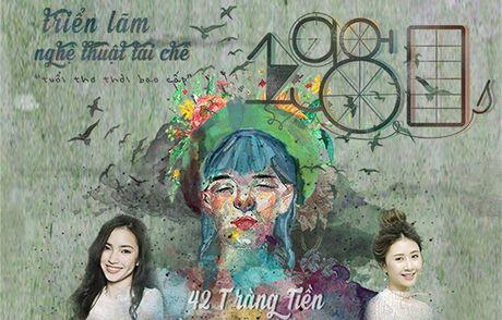 """Trien lam nghe thuat tai che """"NGUOC 1980s"""": Ai cung co mot noi de ve - Anh 1"""