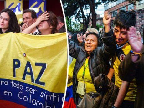 Nguoi dan Colombia bac bo thoa thuan hoa binh lich su voi FARC - Anh 1