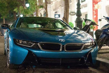 Sieu xe BMW i8 cua thieu gia Ha Thanh dap chieu sau 1 nam mua ve - Anh 4