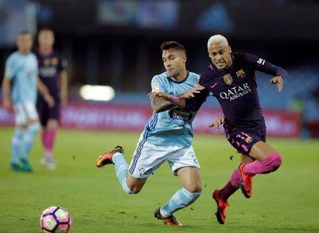 Thua tham Celta Vigo, Barca tut xuong vi tri thu 4 - Anh 1