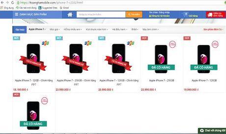 Hoang Ha Mobile dong lai seal IPhone 7, nhung tu van moi 100%? - Anh 1