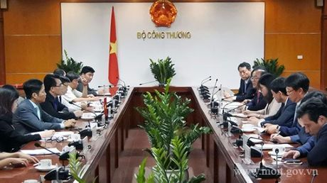 Bo truong Tran Tuan Anh tiep Dai su dac menh toan quyen Dai Han Dan Quoc tai Viet Nam - Anh 1