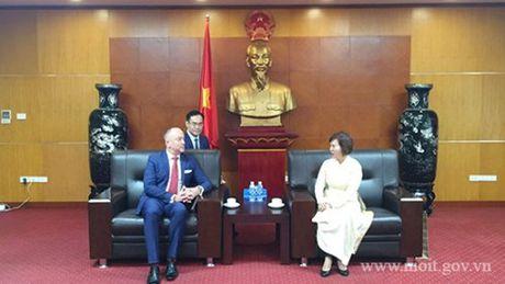Thu truong Ho Thi Kim Thoa tiep Pho Quoc vu khanh Bo Ngoai giao va KTDN Hungary - Anh 2