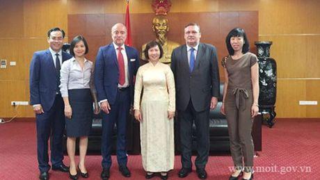 Thu truong Ho Thi Kim Thoa tiep Pho Quoc vu khanh Bo Ngoai giao va KTDN Hungary - Anh 3