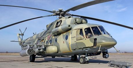 Phien ban vu trang hang nang cua truc thang Mi-8 co gi dac biet? - Anh 1