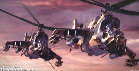 """Super Hind Mk III - """"Ca sau Nga"""" den tu chau Phi - Anh 1"""