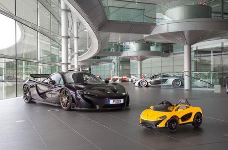 Sieu xe McLaren danh cho nhoc ti, tang toc...4,8 km/h trong 2 giay - Anh 1