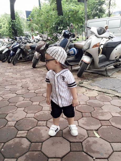 Tam Tit khoe anh con trai cuc ki dang yeu - Anh 10
