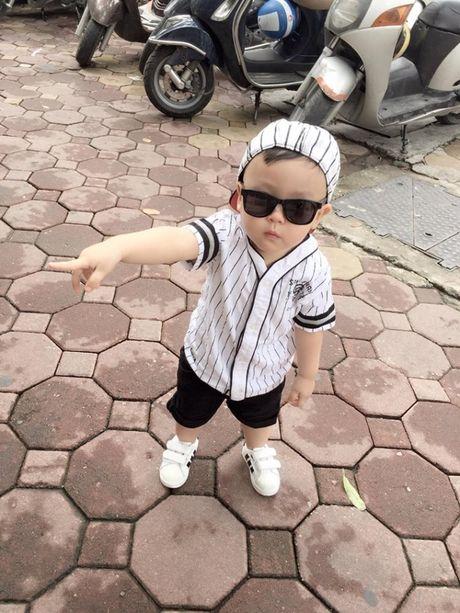 Tam Tit khoe anh con trai cuc ki dang yeu - Anh 8