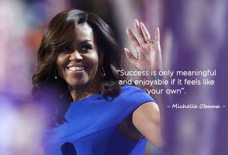 Hoc tieng Anh qua nhung cau noi an tuong cua Michelle Obama - Anh 1