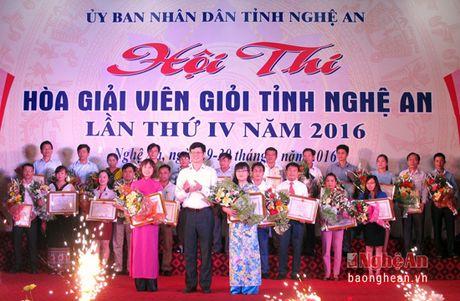 Nghe An gianh giai nhi hoi thi Hoa giai vien gioi khu vuc mien Trung – Tay Nguyen - Anh 2