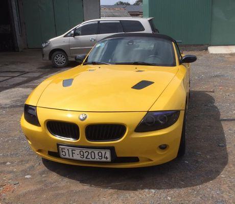 La doi chiec BMW Z4 mui tran duoc rao ban chi 500 trieu dong - Anh 2