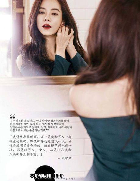 Song Ji Hyo tuyen bo se khong bo chong du anh ta ngoai tinh - Anh 3