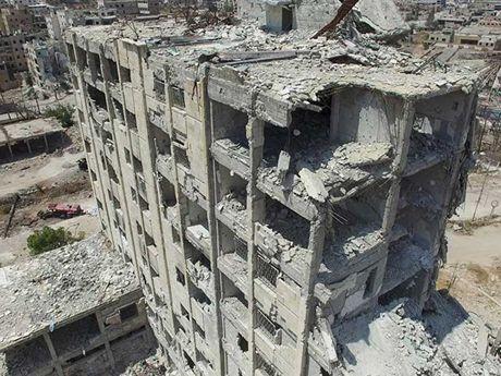 Cuong do chien su tai Aleppo khong giam - Anh 1