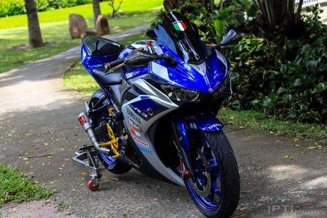 Yamaha YZF-R3 len nhieu do choi cua biker Viet - Anh 1